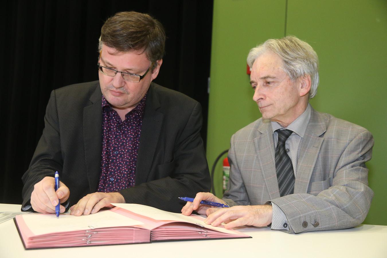 Eedaflegging burgemeester Kruisem, Joop Verzele