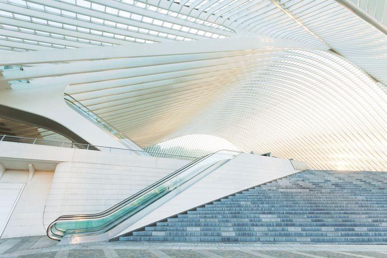Het station van Luik.