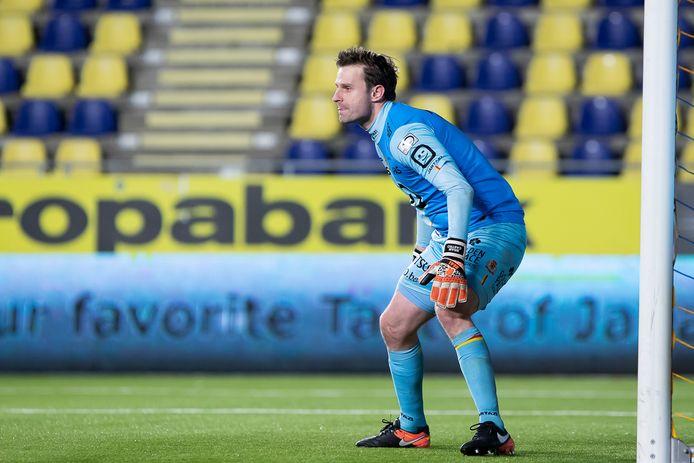 Bram Castro in actie voor KV Mechelen net voor de coronacrisis uitbrak.