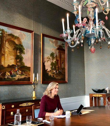 Koningin Máxima geeft werkzoekenden carrièreadvies: Blijf jezelf ontwikkelen