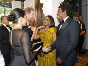 Meghan Markle et Harry rencontrent Beyoncé et Jay-Z
