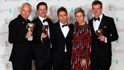 'Three Billboards Outside Ebbing, Missouri' grote slokop op de Bafta's