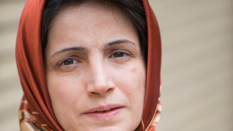 De Iraanse advocaat Nasrin Sotoudeh Beeld AFP