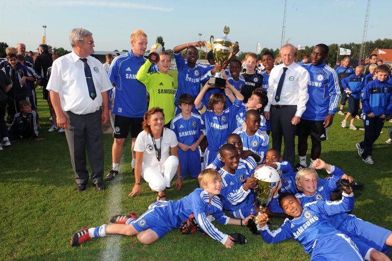 Chelsea won het Europees miniementornooi van Bierbeek al twee keer.