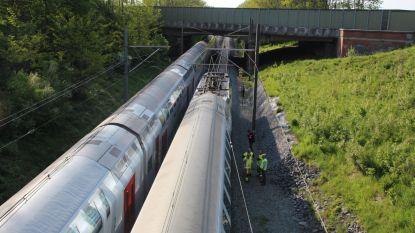 Honderden treinreizigers 3 uur geblokkeerd onder E40