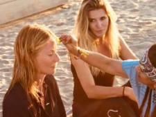 Danielle Oerlemans gespot op spiritueel vrijgezellenfeest Gwyneth Paltrow