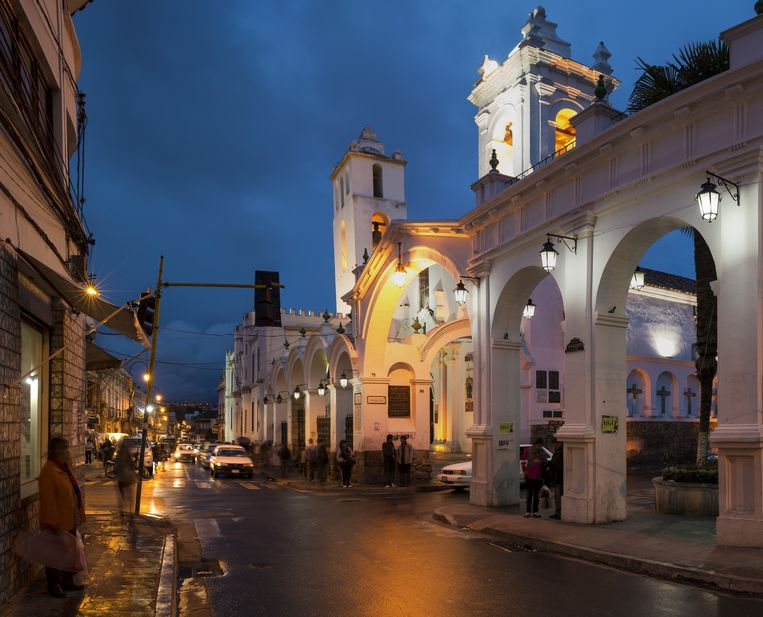 De kerk van San Francisco in Sucre. Beeld getty