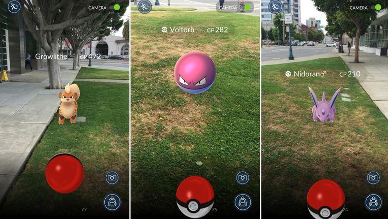 Pokémon Go. Beeld