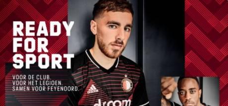 Dit is het nieuwe uitshirt van Feyenoord