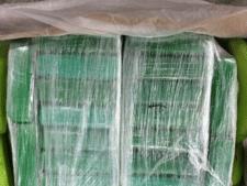 5300 kilo cocaïne tussen bananen gevonden in haven Antwerpen