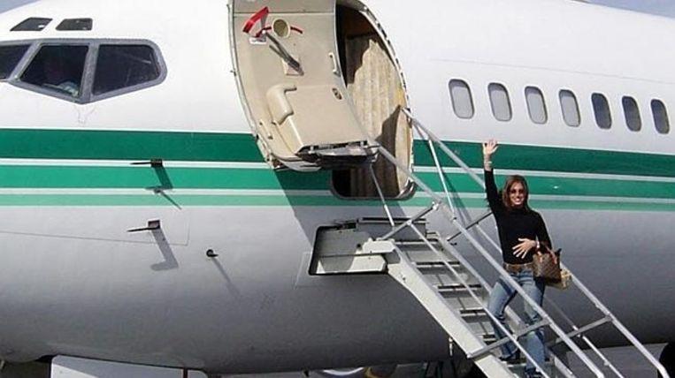 Corso charterde een vliegtuig om naar Mexico te gaan voor de 40ste verjaardag van haar echtgenoot.