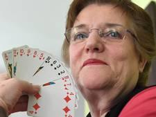 Gerda Crooijmans is de troefkaart van de Overloonse Bridge Club