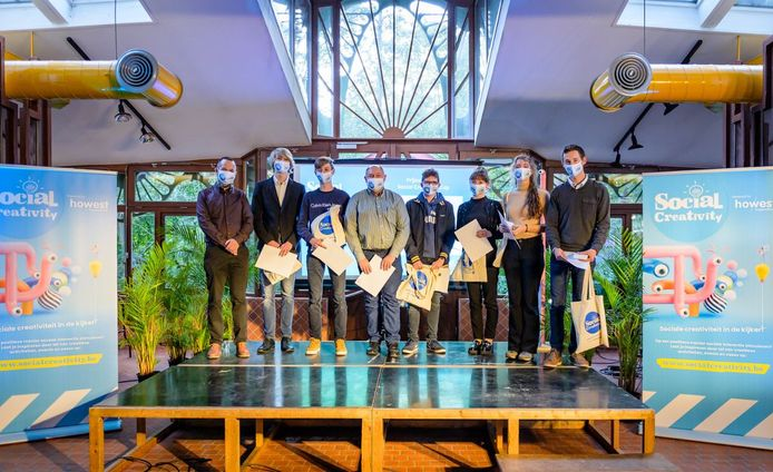 Leerlingen VTI winnen Howest Social Creativity Cup.