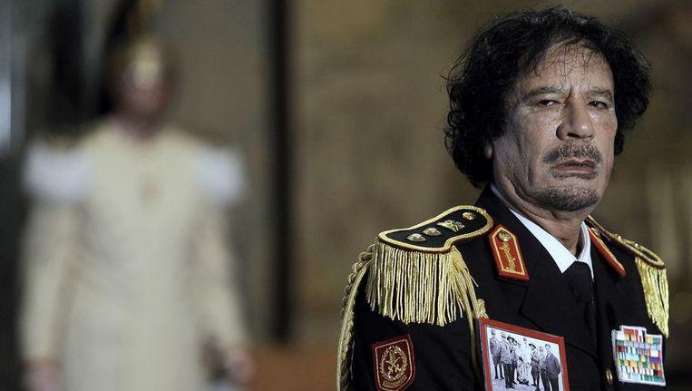 Muammar Kaddafi. Beeld anp