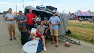"""Kleine volksverhuizing voor Festival Dranouter  loopt niet op wieltjes: """"Aanhangwagen mag  niet binnen! Daar zitten 300 pintjes in!"""""""