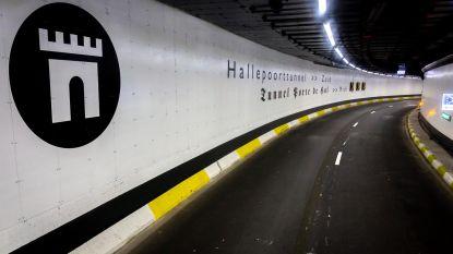 Politie lost schoten in Hallepoorttunnel tijdens achtervolging