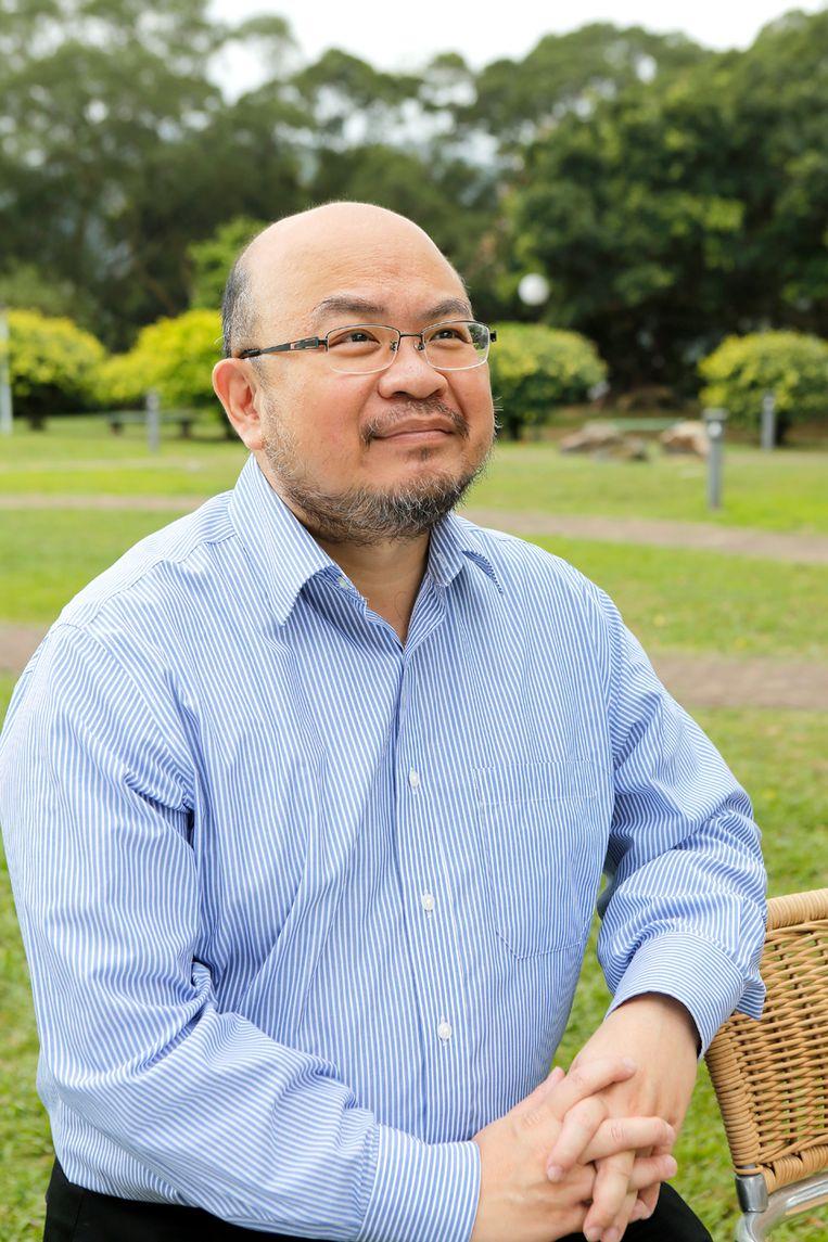 Ivan Choy Chi-keung, hoofddocent politieke wetenschappen aan de Chinese Universiteit van Hongkong.  Beeld Chinese University of Hong Kong