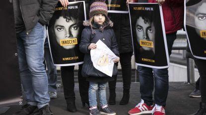 Nederlandse fans van Michael Jackson  demonstreren tegen uitzenden Leaving Neverland