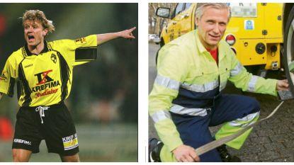 Hij werd kampioen met Lierse en Ajax, vandaag rijdt hij rond met de takelwagen