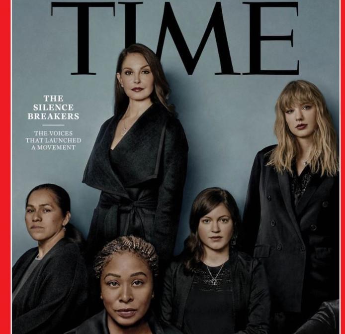 Ashley Judd, Taylor Swift en vele andere vrouwen die openlijk verklaarden in het verleden te zijn aangerand of verkracht, zijn door Time Magazine tot Person of the Year 2017 uitgeroepen.