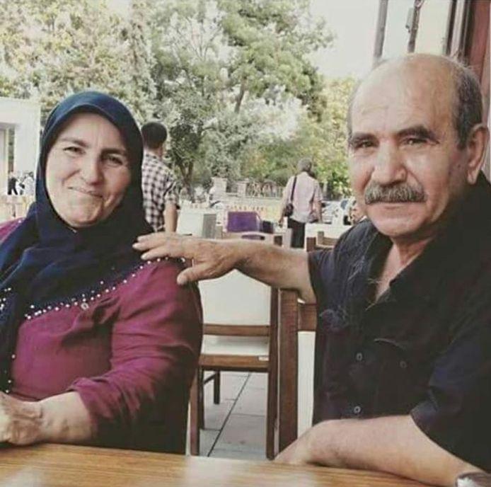 Sahinde en Yavuz Ayten, die in Schiedam woonden.