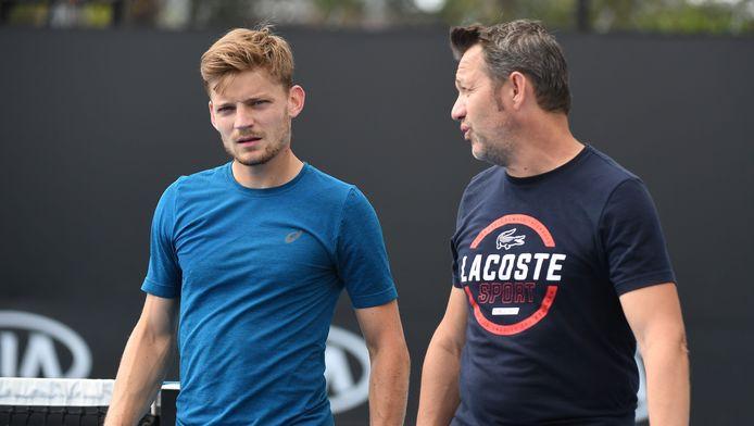 Rideau sur la saison 2018 de David Goffin? Les regards du Liégeois et de son coach sont déjà tournés vers 2019.