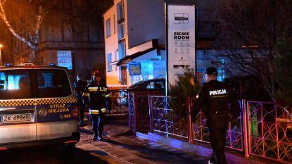 Drama in Polen: vijf tieners dood na verjaardagsfeest in escape room