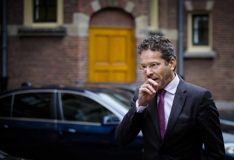 Minister van Financiën Jeroen Dijsselbloem Beeld anp