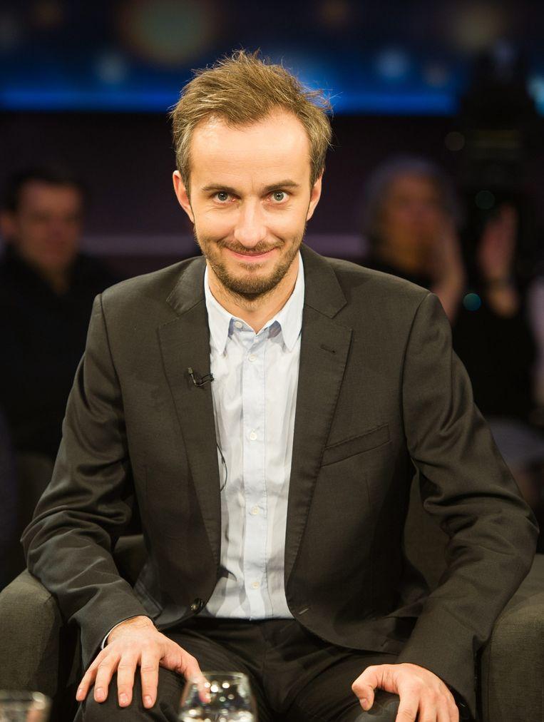 De Duitse komiek Jan Böhmermann. Beeld epa