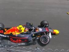 Verstappen start na crash achteraan in Monaco
