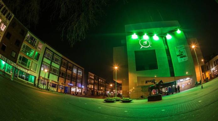 Het voormalige bankgebouw van ABN AMRO aan het Gele Rijdersplein was hoofdkwartier van Ruimtekoers 2015. Foto Ruimtekoers