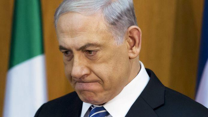 De Israëlische premier Netanyahu.