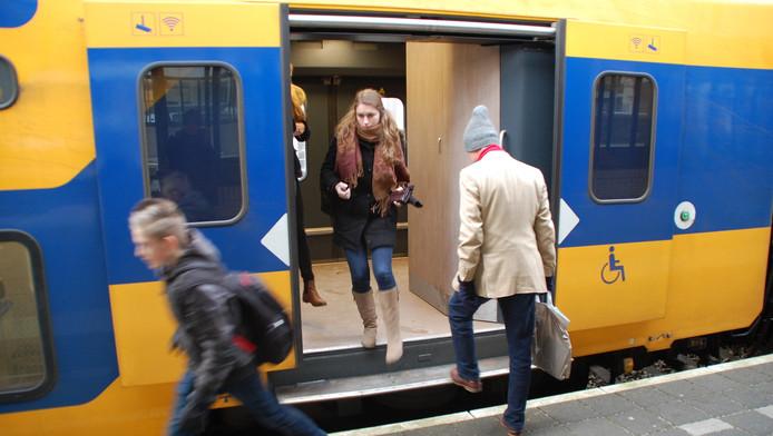 Bij Bleizo, tussen Zoetermeer en Bleiswijk, moeten als alles goed gaat eind 2018 treinen stoppen.