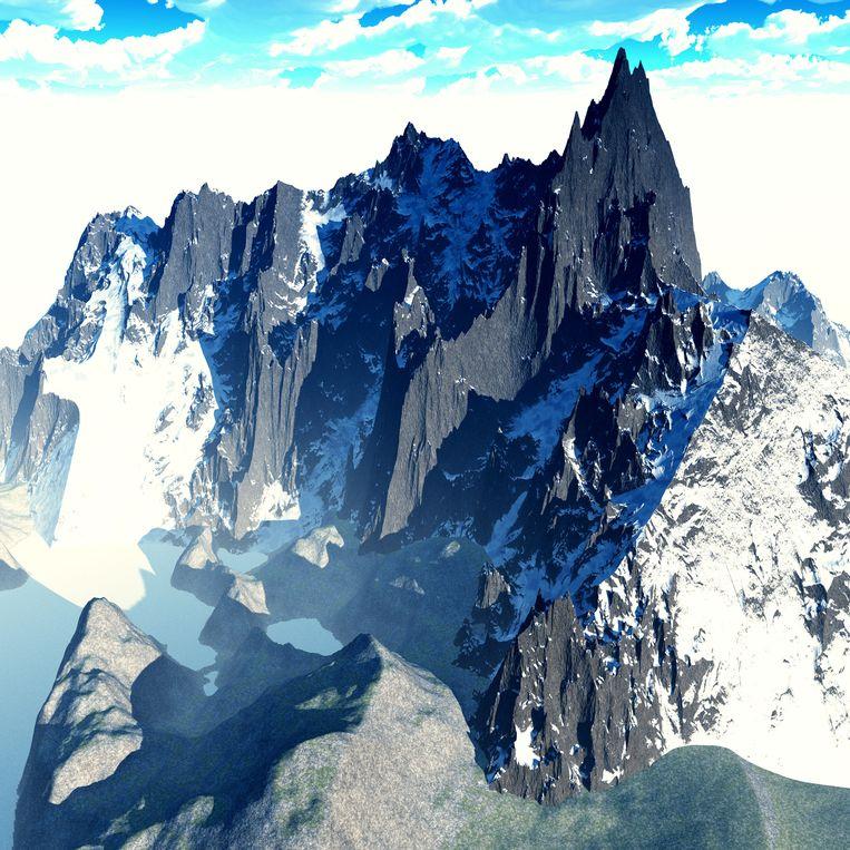Himalaya-toppen. Beeld Colourbox