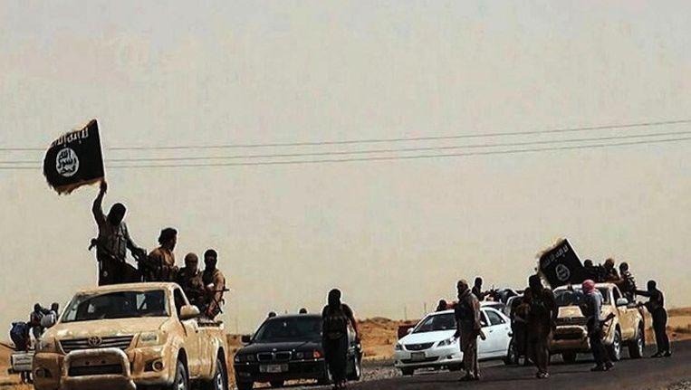 IS-strijders in Irak Beeld anp