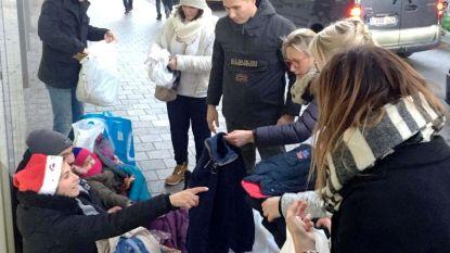 Ninovieter verzamelt kledij en trekt naar Brussel om ze aan daklozen te schenken op Kerstmis