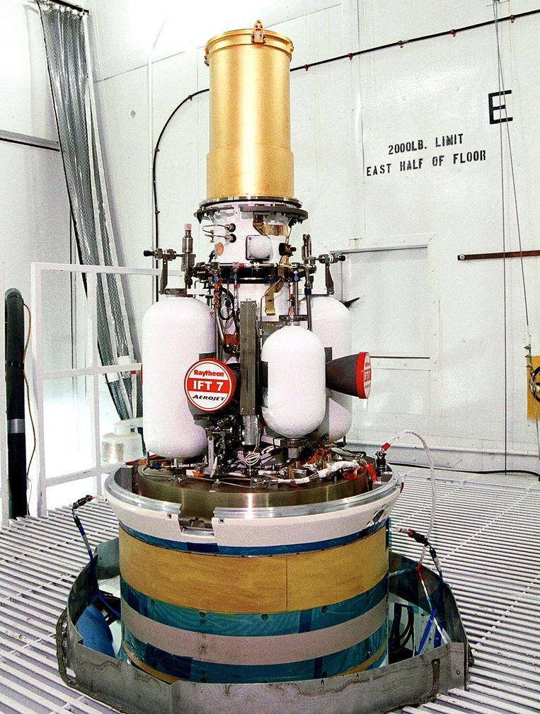 Een interceptor van het GMD-systeem.