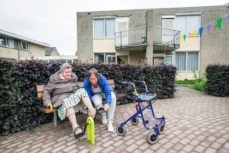 Het woonzorgcentrum Sint Martinus in Zevenbergschen Hoek. Beeld Hollandse Hoogte / Joyce van Bel