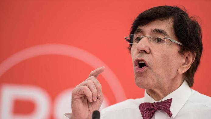 Le président du PS Elio Di Rupo.
