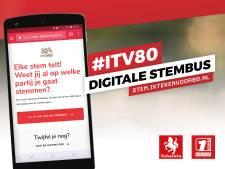 Digitale verkiezing in Enschede succes: vrijwel dezelfde uitslag