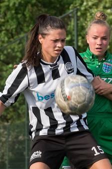 Voetbalsters Eldenia haken af in titelstrijd, VDZ onderuit