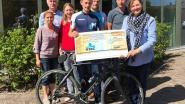 Tom fietst 5.000 euro bijeen voor KOTK