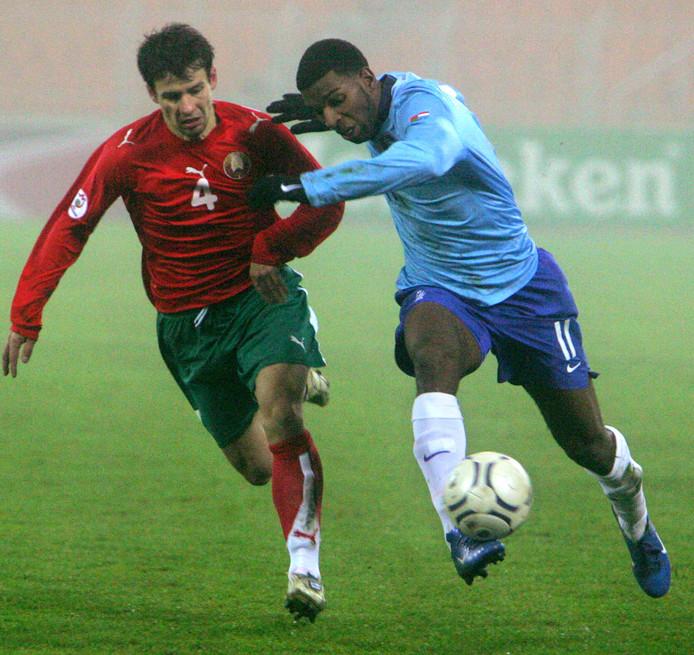 Met Ryan Babel ging Oranje in 2007 pijnlijk onderuit in Minsk. De huidig speler van Fulham is er 12 jaar later als enige nog steeds bij.