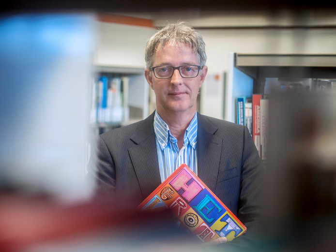 Rudi Crombeen, directeur Bibliotheek Zeeuws-Vlaanderen.