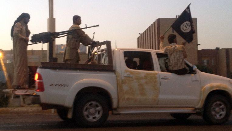 Strijders van Al-Qaida, archiefbeeld.