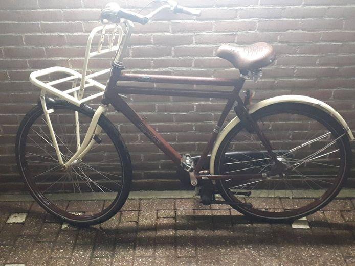 Deze fiets werd 'per ongeluk' meegenomen door iemand die in Middelburg wat te diep in het glaasje had gekeken.