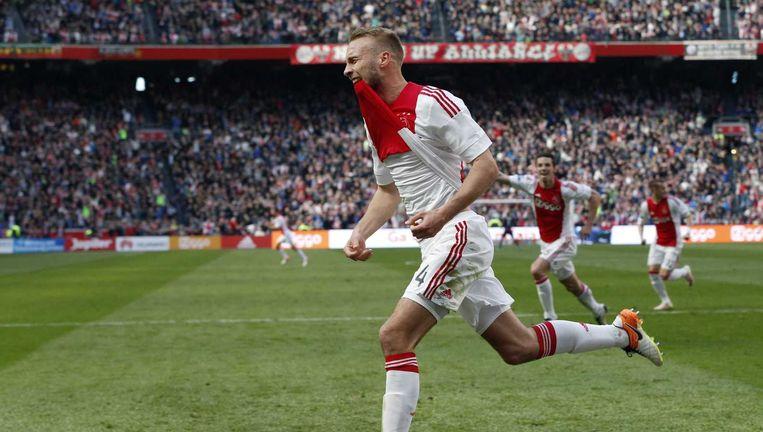 Mike van der Hoorn staat open voor een transfer. Beeld anp