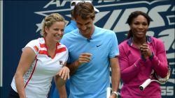 """Roger Federer over comeback Kim Clijsters: """"Ik weet waartoe ze in staat is"""""""