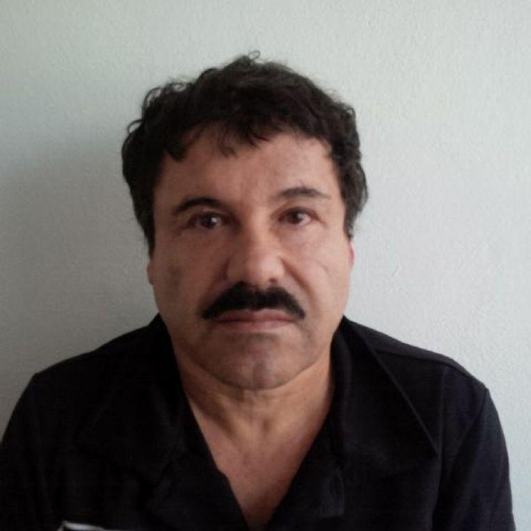 Foto die door het kantoor van de Mexicaanse officier van Justitie werd vrijgegeven nadat 'El Chapo' is gearresteerd. Beeld ap
