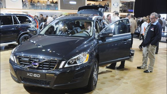 Volvo Cars op het 90e autosalon in ons land.